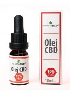 CBD olejek 10%